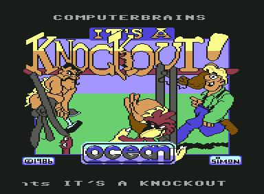 It's A Knockout - C64 Game