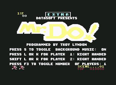 Mr.Do - C64 Game